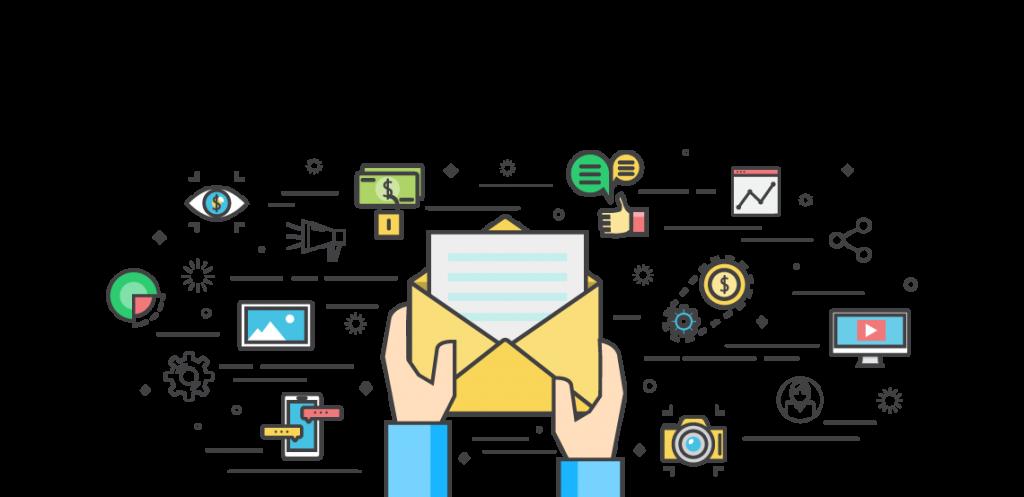 Логотип e-mail маркетинг